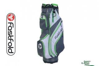 FastFold lichtgewicht 9.5 inch Trolleytas grijs wit groen