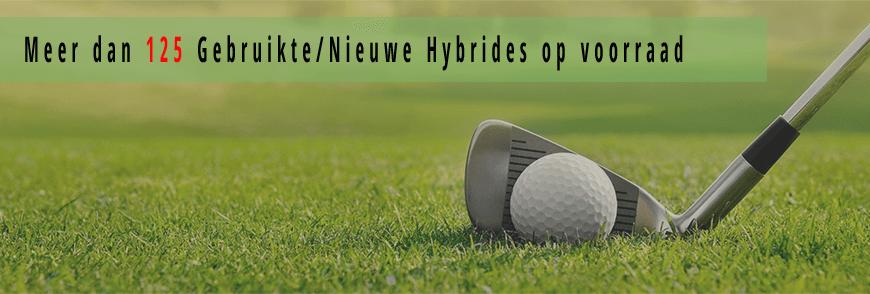 Golfhybrides, gebruikte hybrides