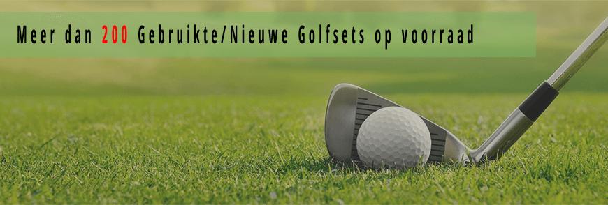 Golfsets, gebruikte ijzers