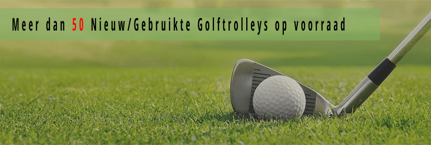 Golftrolleys , gebruikte golftrolleys