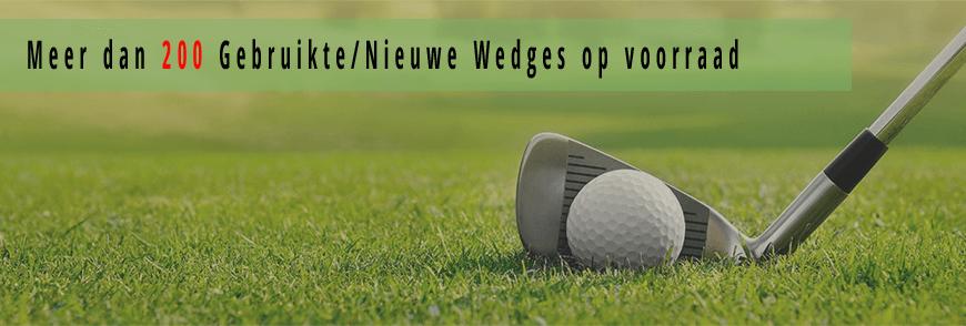 Golfwedges, gebruikte wedges