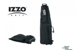 IZZO Travelbag zwart